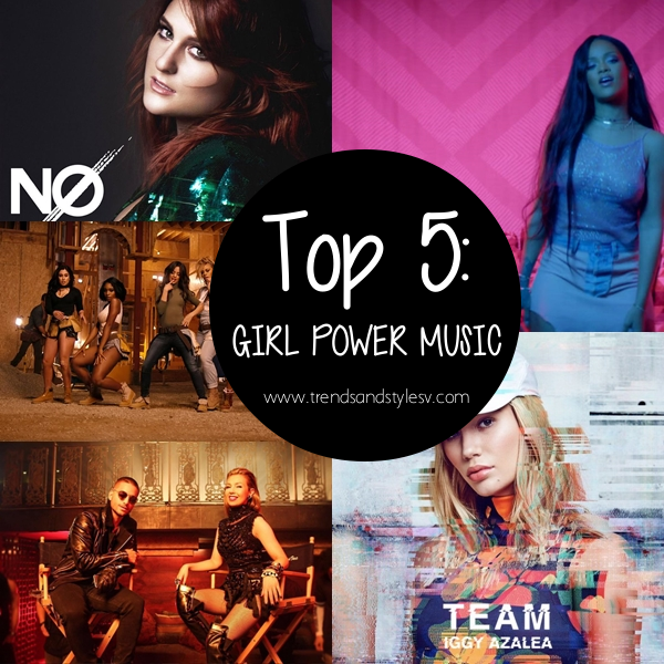 TOP5girlpowermusic